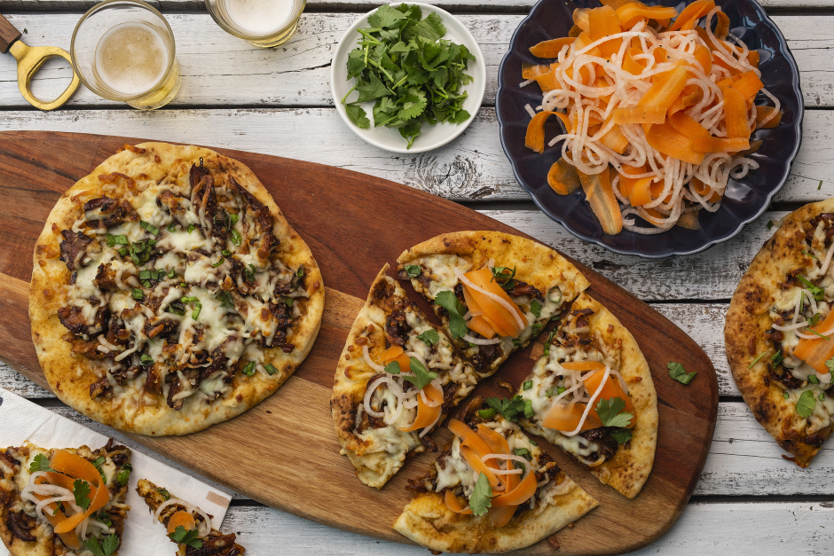 Korean Chicken Bulgogi Pizza