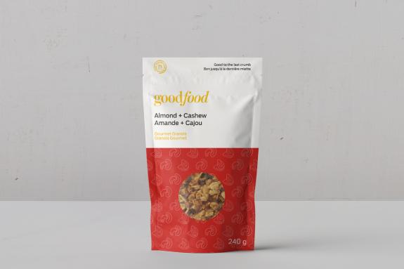 Almond + Cashew Granola