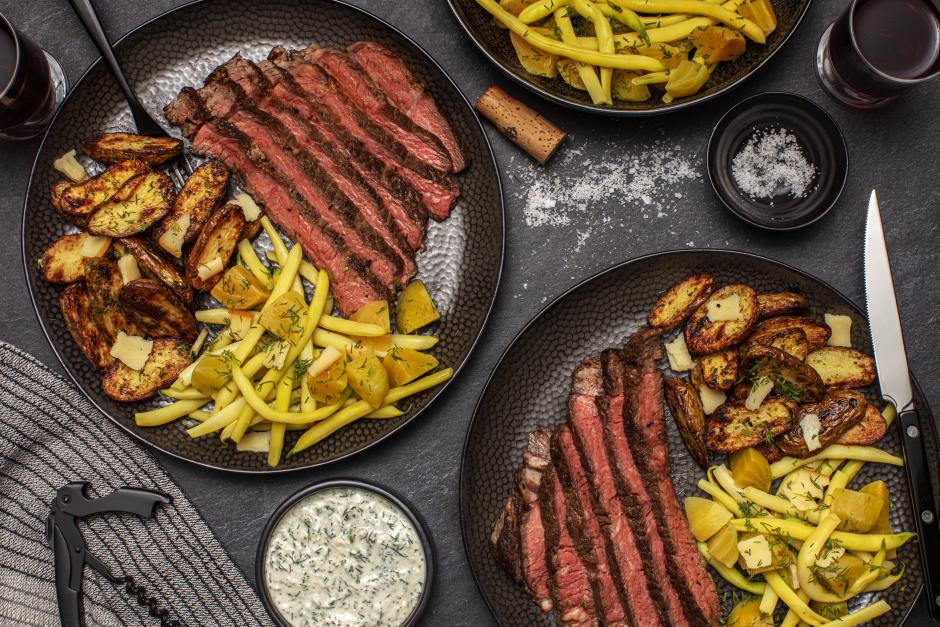 AAA Bone-In Rib Steak with Smoked Cheddar