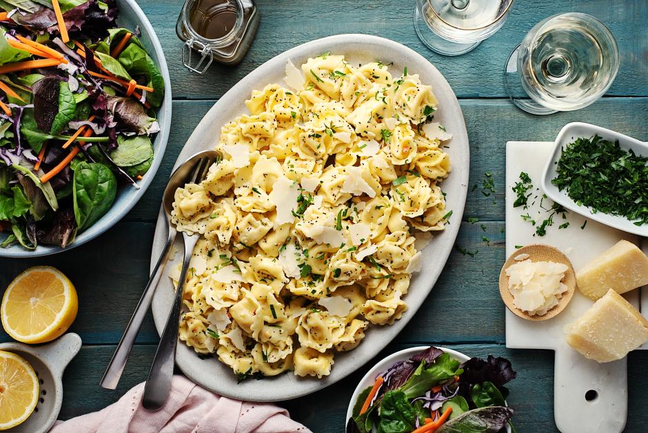 Lemon & Poppy Seed Tortellini