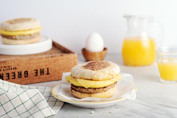 Egg, Cheddar, and Sausage