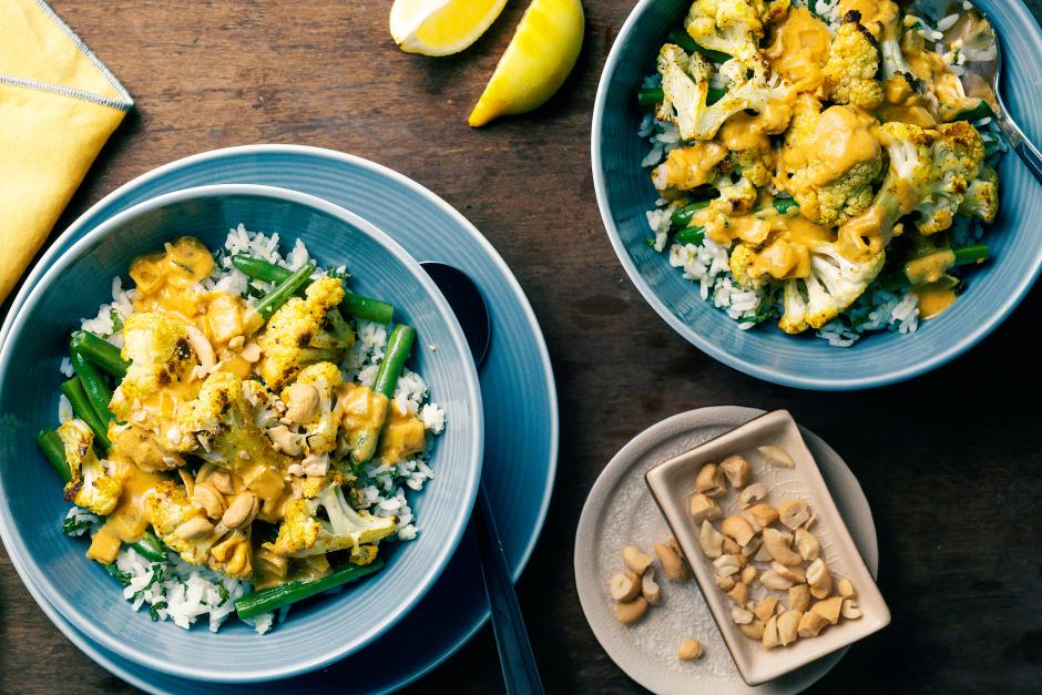 Spiced Cauliflower Korma