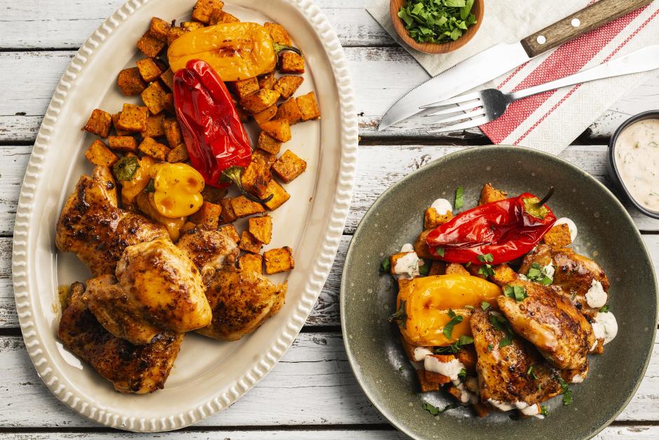 Chipotle Chicken Thighs