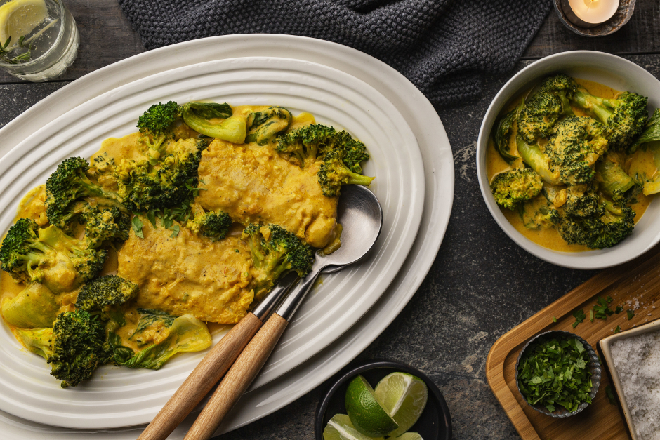 Thai Cod & Coconut Yellow Curry