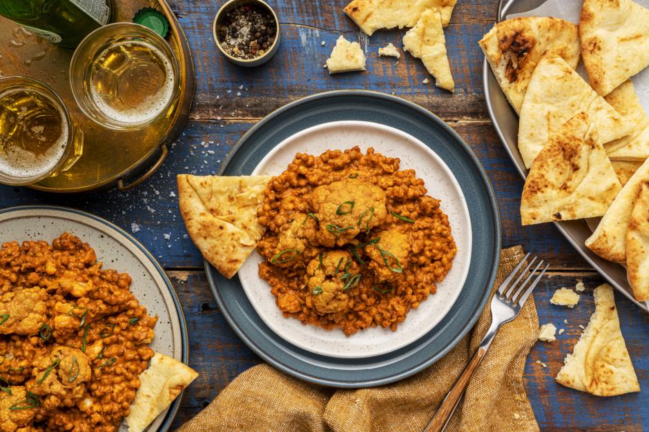 Cauliflower & Lentil Curry