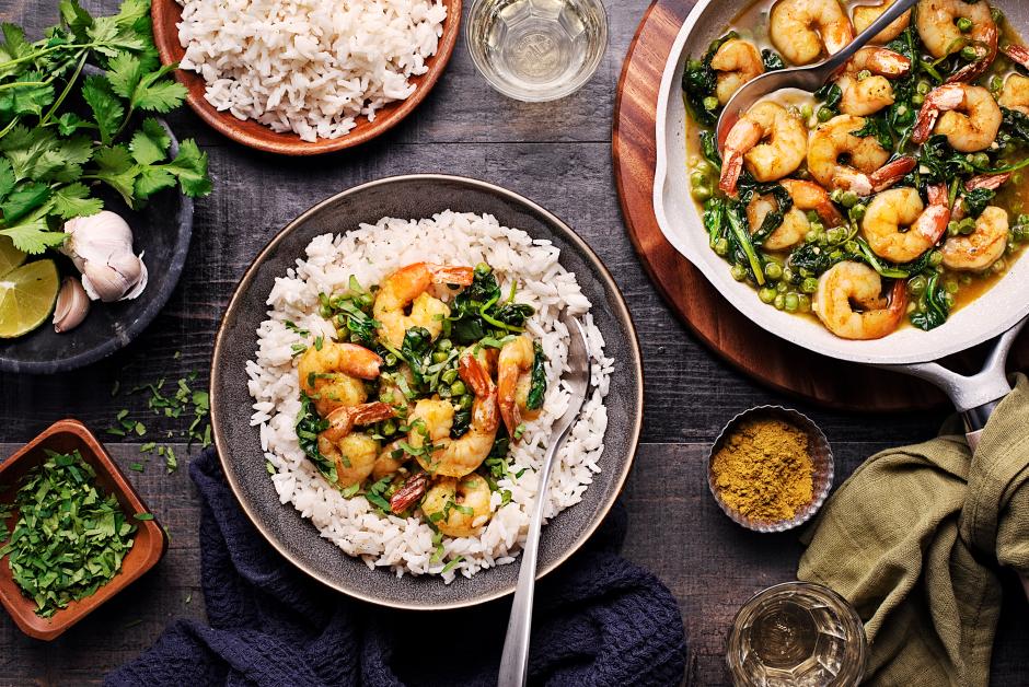 Indian-Style Shrimp