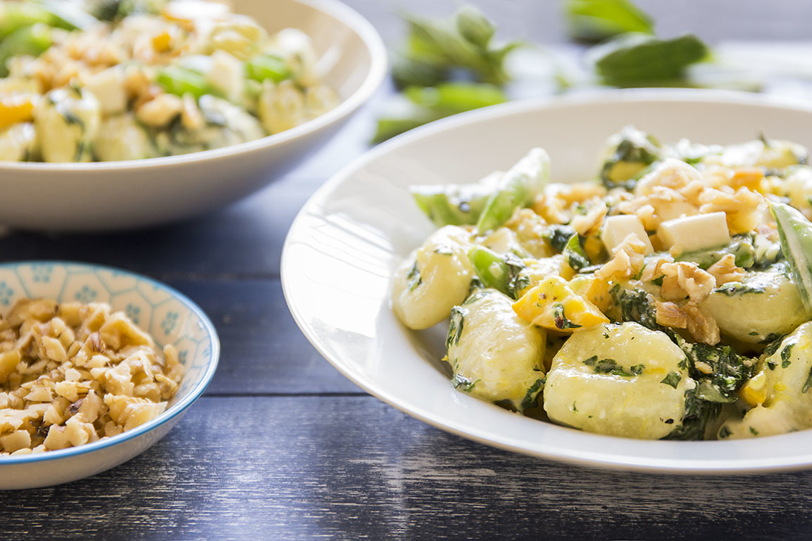 Three-Cheese Gnocchi