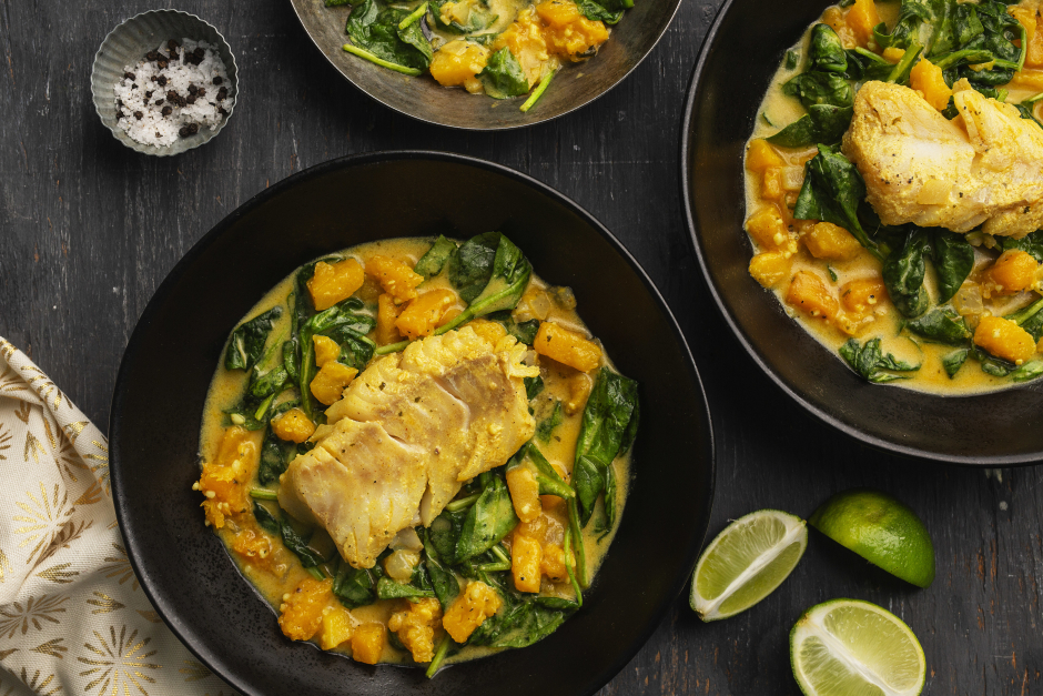 Indian Cod Curry