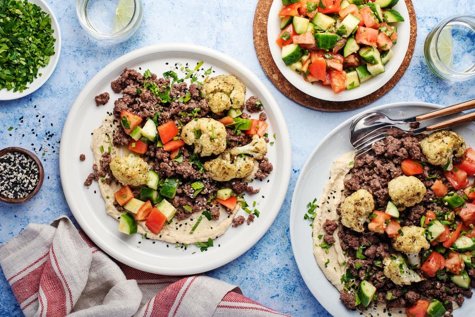 Za'atar Beef Platter