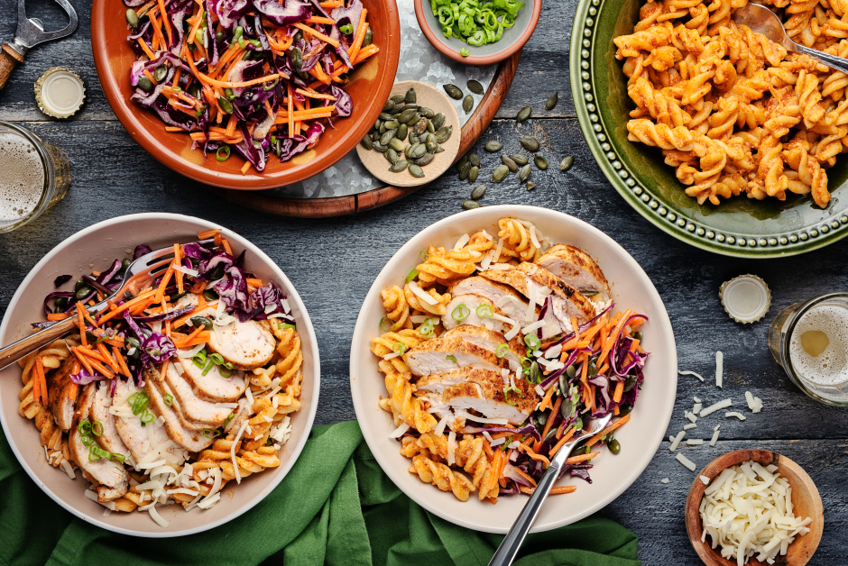 Mexican-Spiced Chicken Taco Pasta