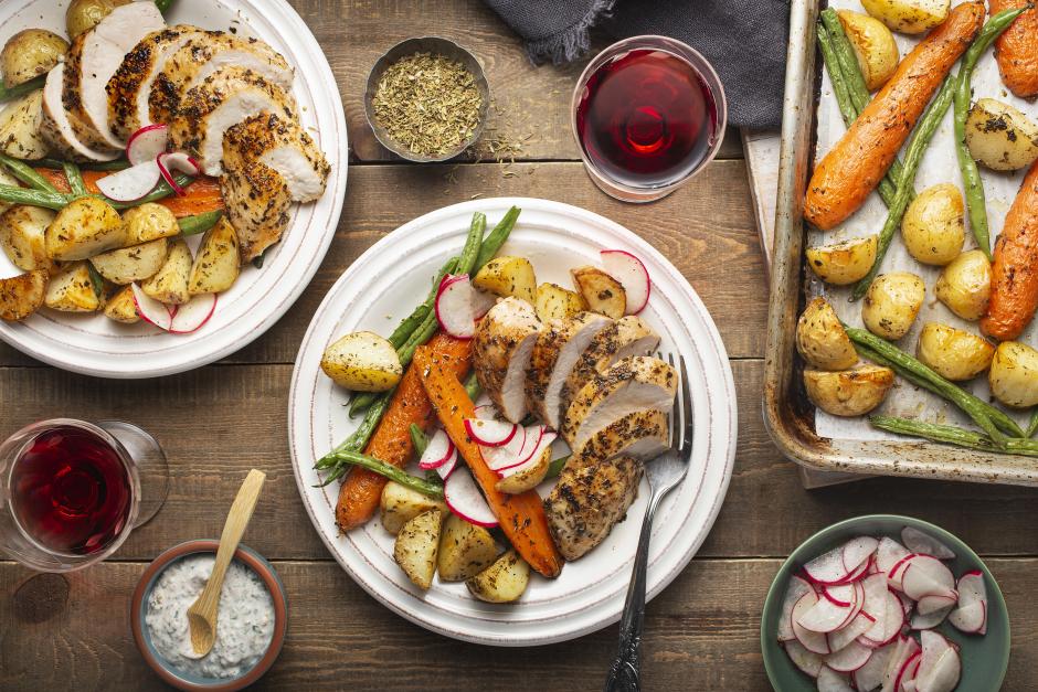 Herbes de Provence Chicken & Roasted Vegetables