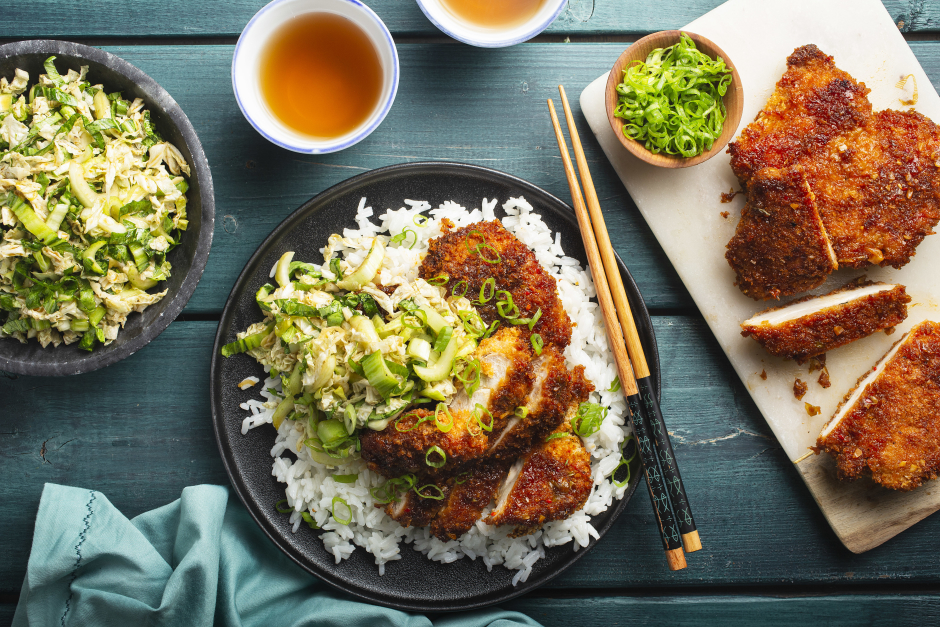 Oven Baked Korean-Style Chicken