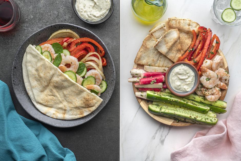 Dinner + Lunch Combo: Lemon-Garlic Shrimp