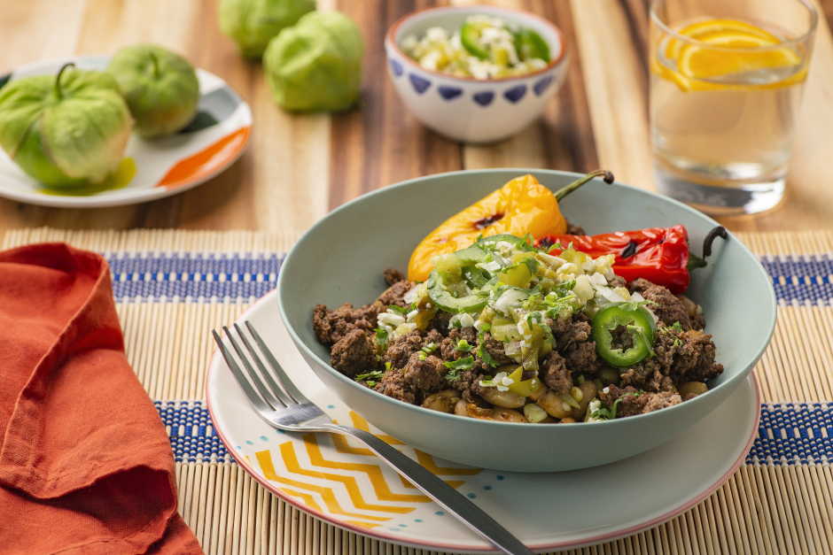 Lime & Ancho Beef Burrito Bowl