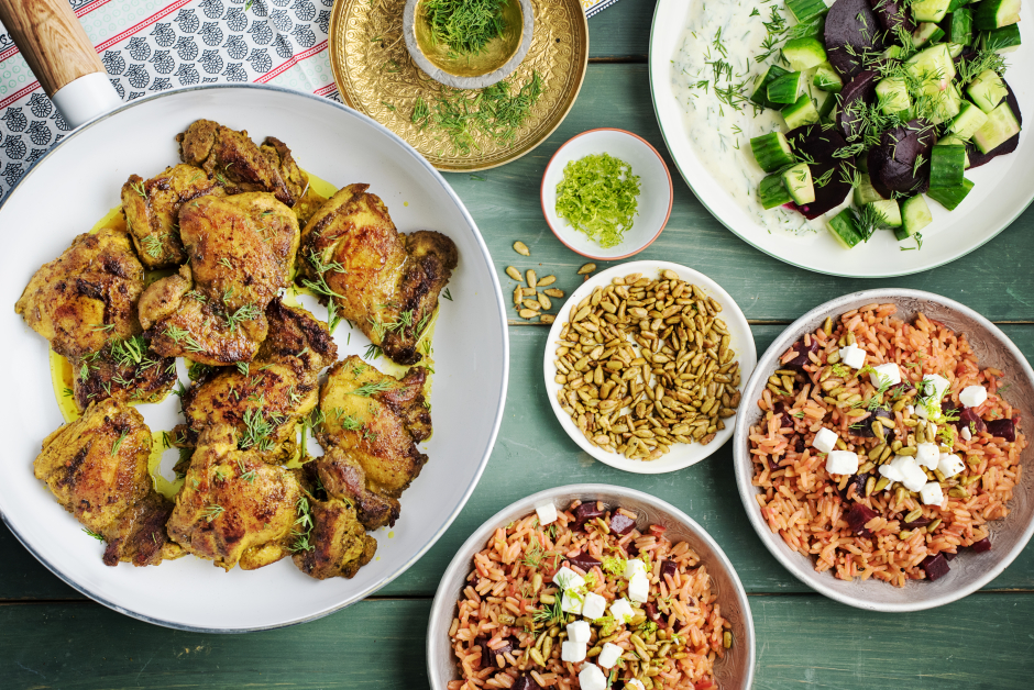 Persian Sumac & Lime Chicken