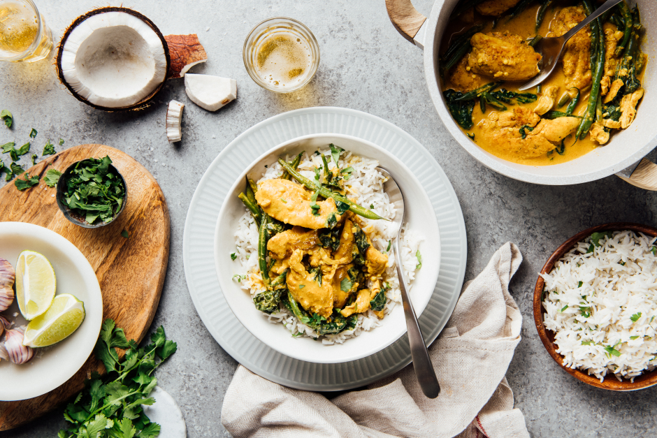 Mango, Coconut & Lime Chicken Curry