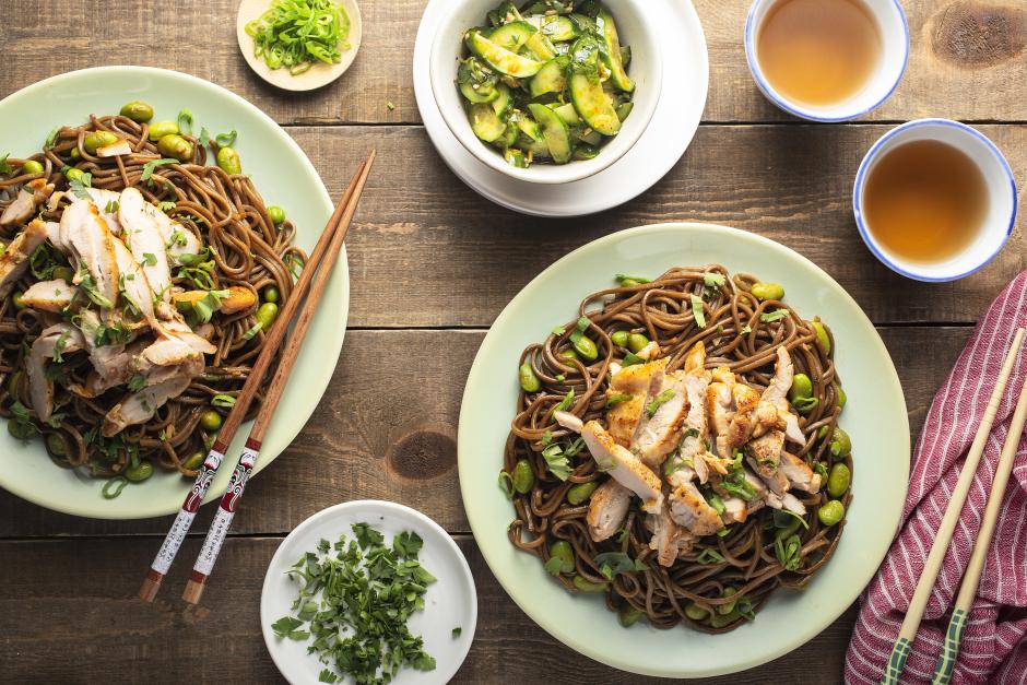 Warm Sichuan-Style Chicken Salad