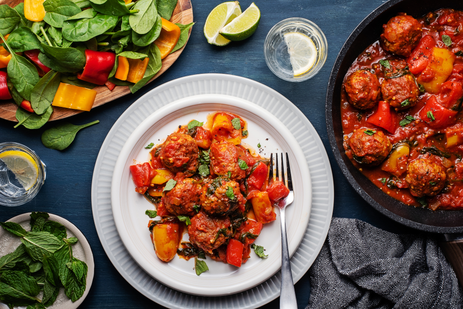 Curried Pork Meatballs