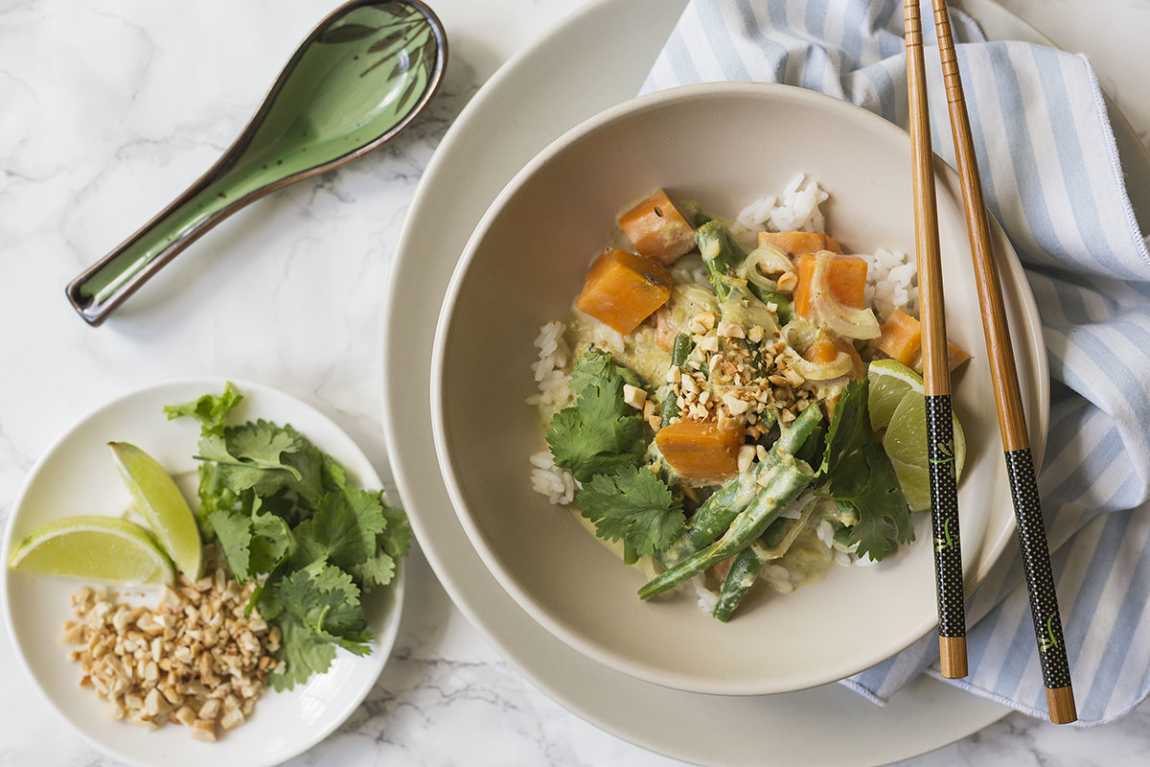 Thai-Coconut Green Curry