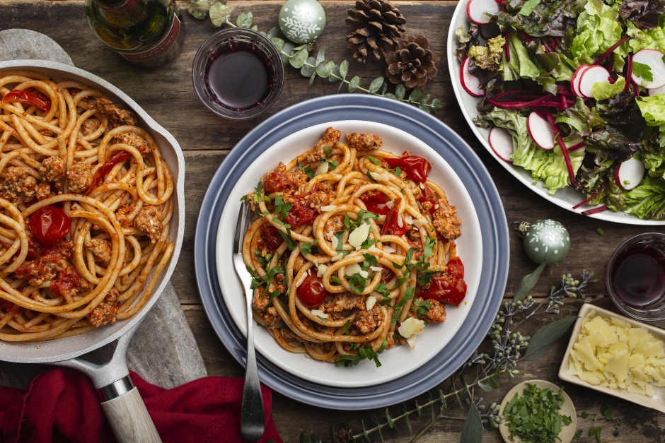 Garlic & Pork Bucatini All'Arrabbiata