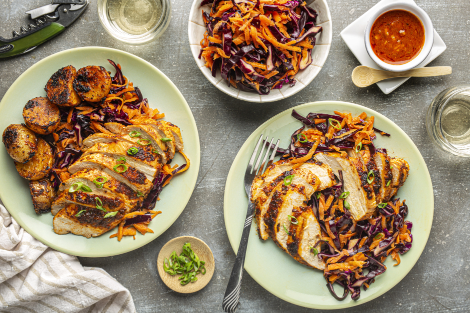 Portuguese-Style Roasted Chicken Breasts