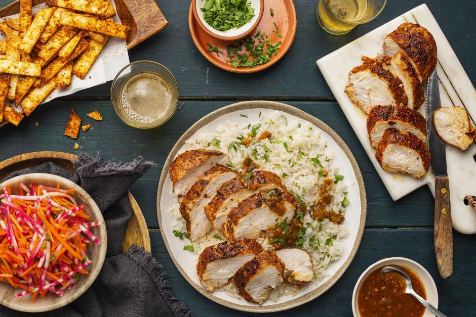 Sweet & Spicy Salsa Verde Chicken
