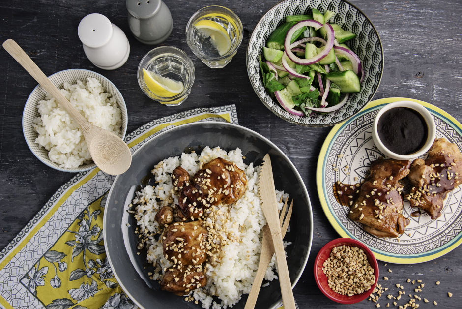 One-Pan Asian Sticky Chicken