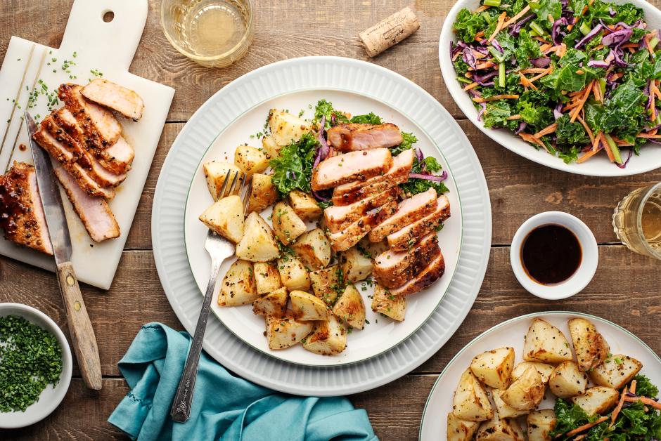 Maple-BBQ Pork Chops