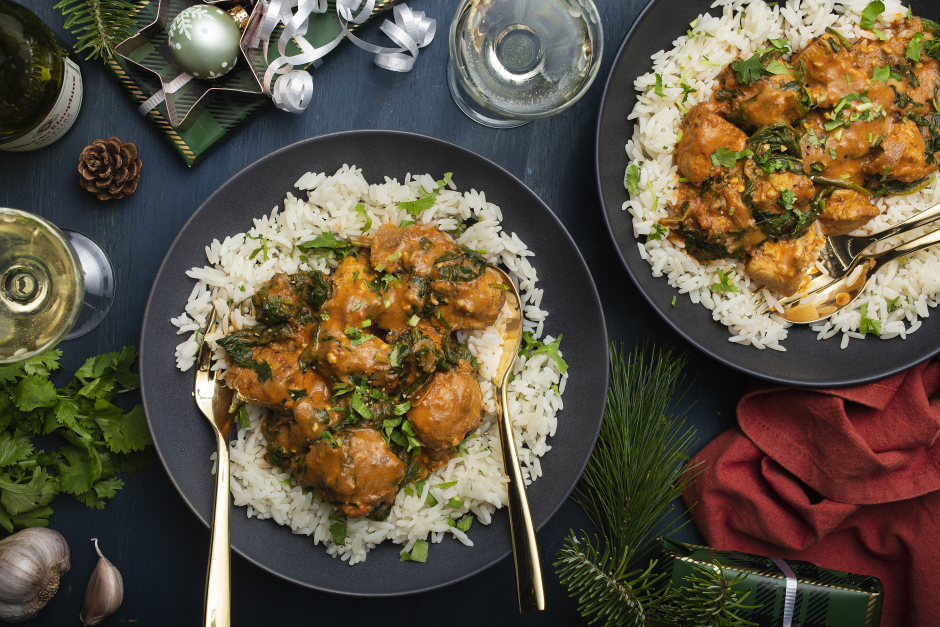 Indian-Style Chicken Dopiaza Curry