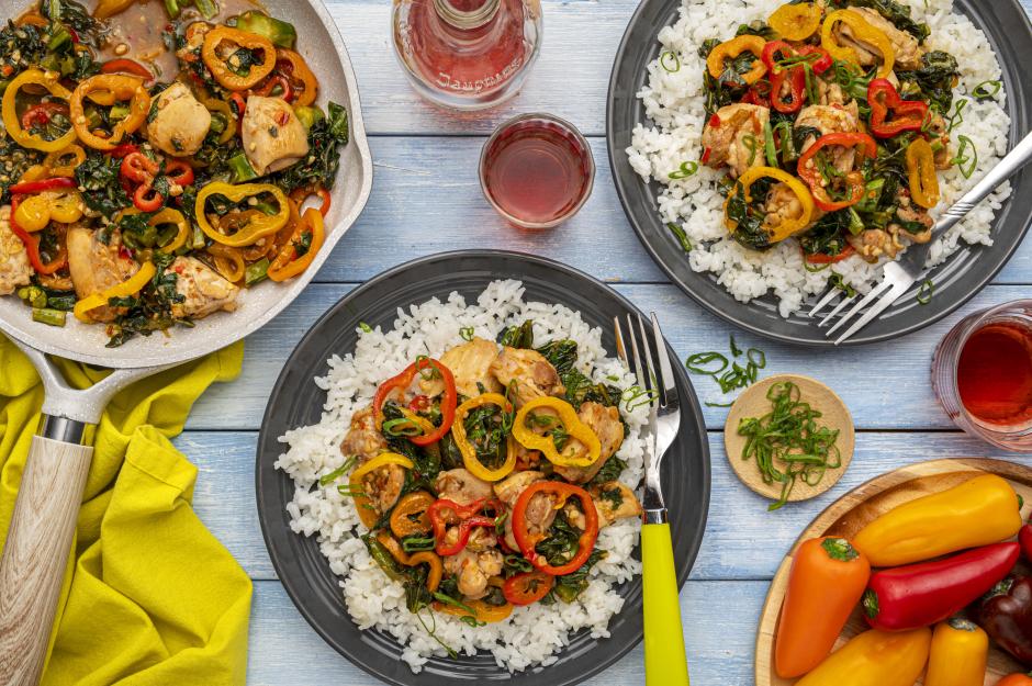 Thai-Style Chicken Stir-Fry