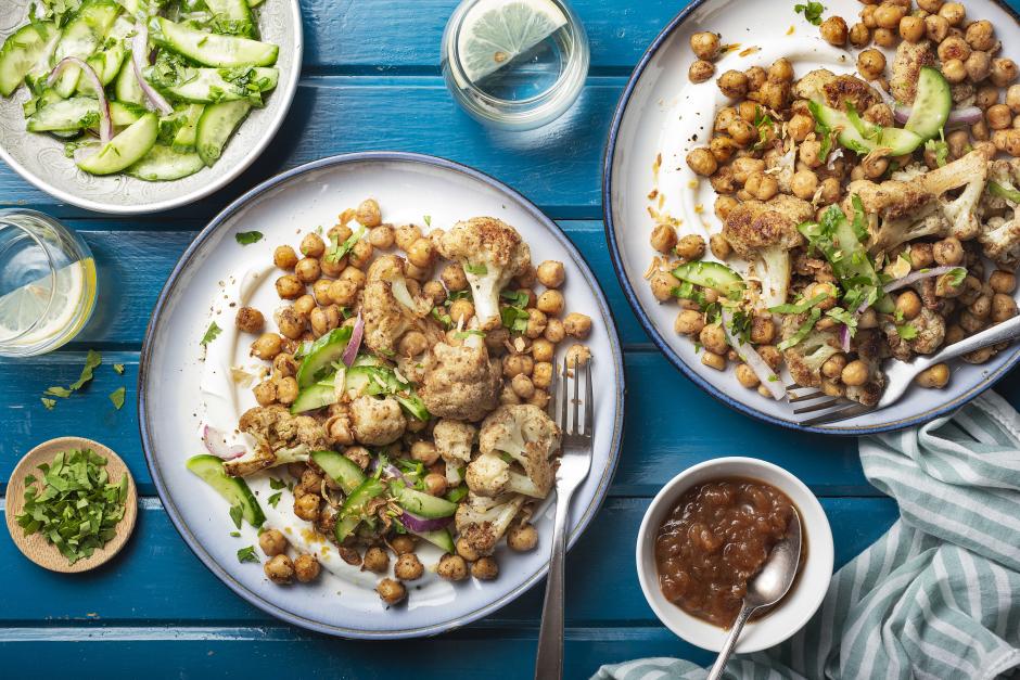 Cauliflower & Chickpea Chaat