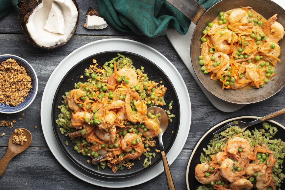 Massaman-Style Shrimp Coconut Curry