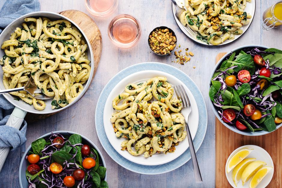 Fresh Gemelli with Mascarpone & Lemon