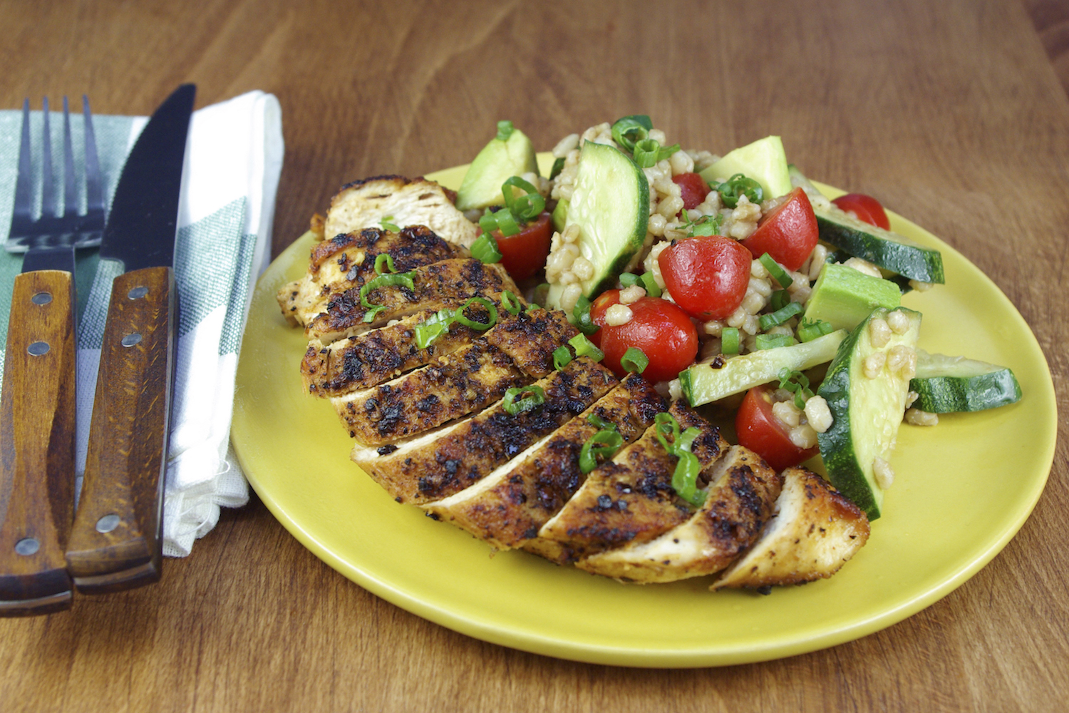 Montreal-Style Grilled Chicken Breasts