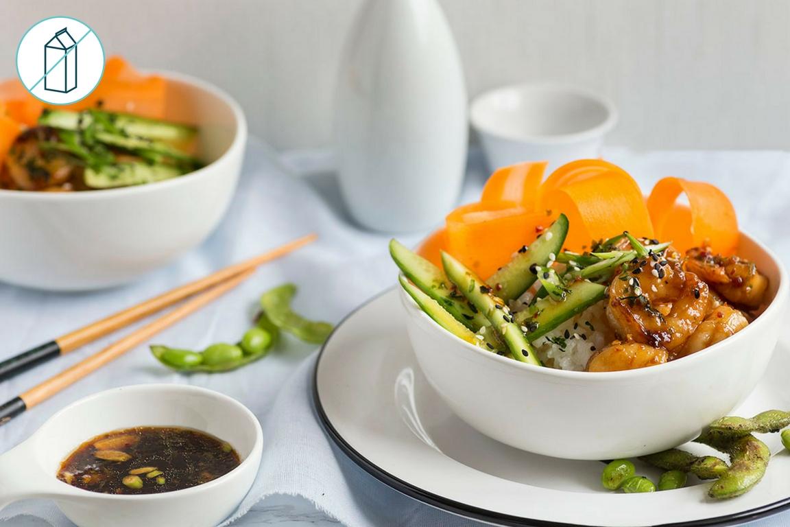 Shrimp Sushi Bowl