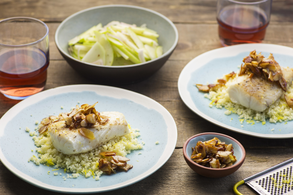 Haddock with Brown Butter Sauce