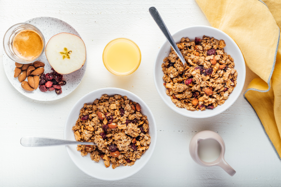 Cranberry + Apple Granola