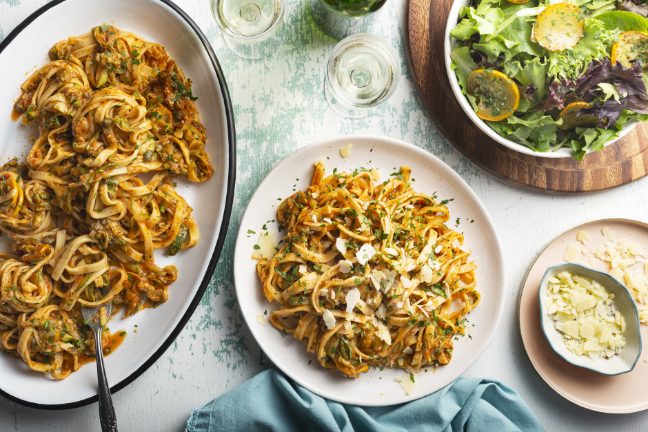 Grated Zucchini 'Bolognese'