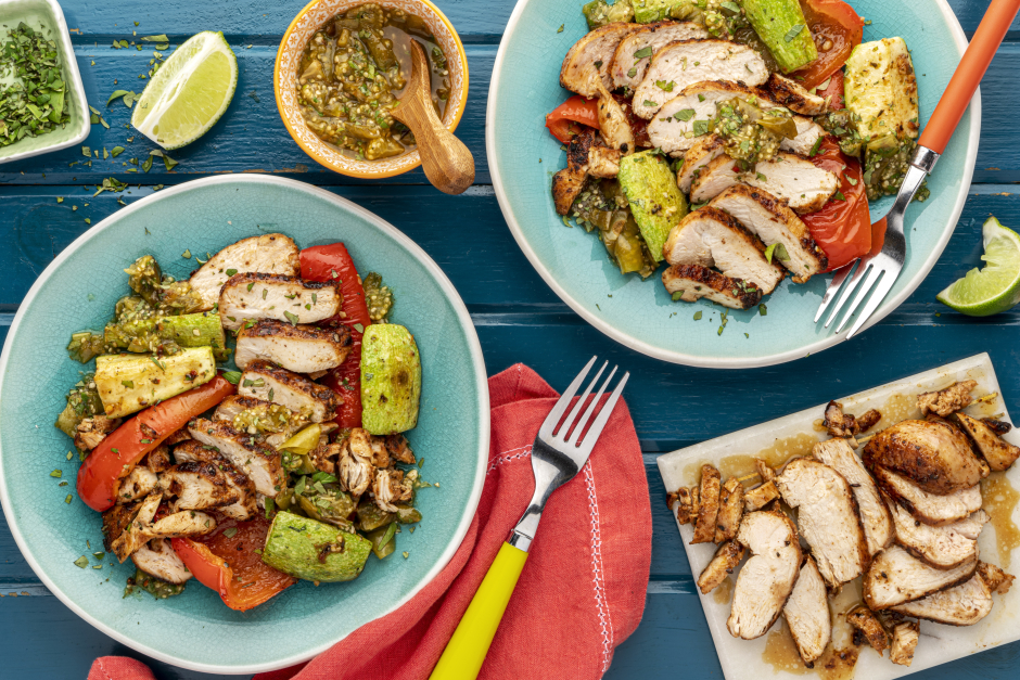 Ancho-Spiced Chicken Breasts