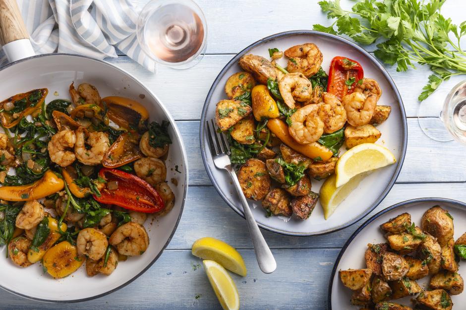 Spanish-Style Pil Pil Shrimp