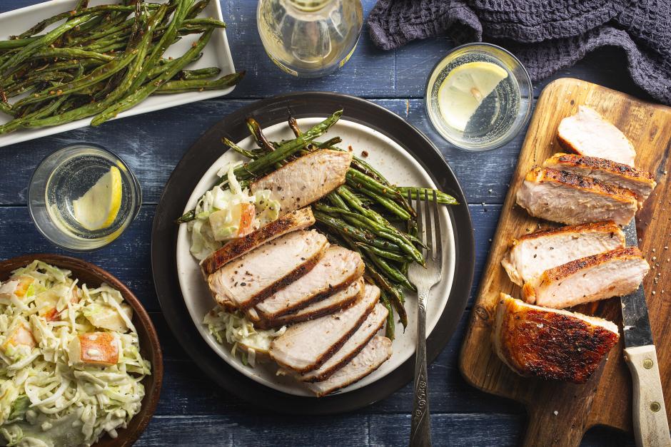 Thyme-Spiced Pork Chops