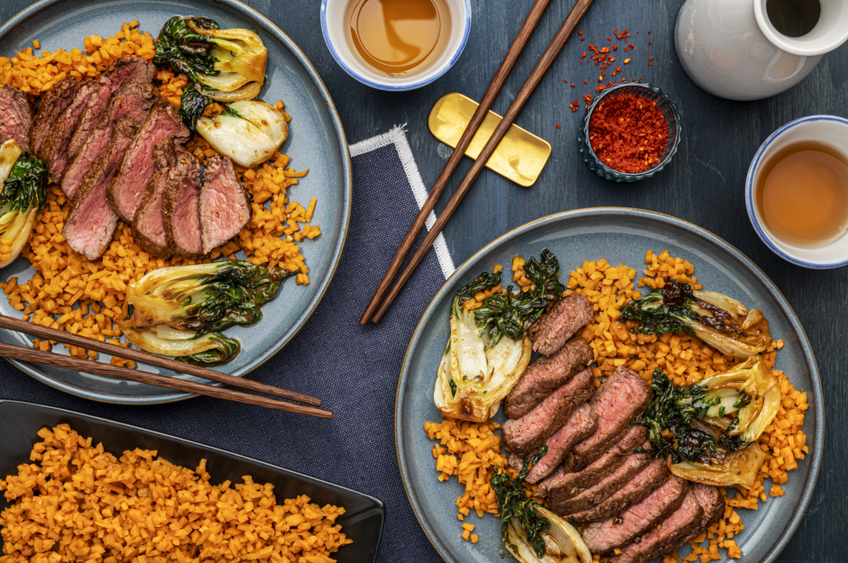 Japanese-Style Seared Steaks