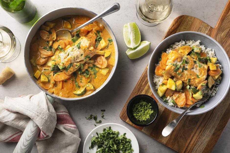 Quick Goan-Style Haddock Curry