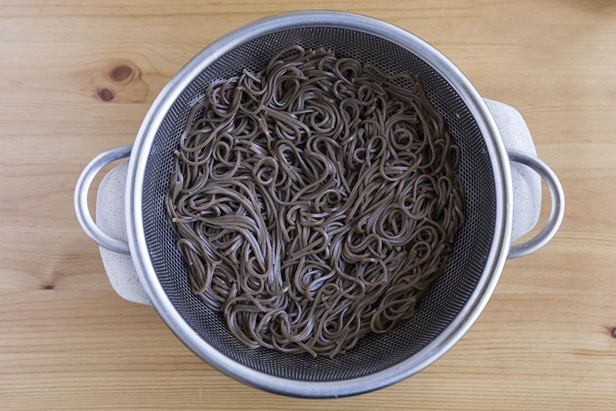 Springtime Miso Soup with Soba Noodles - Shiitake ...
