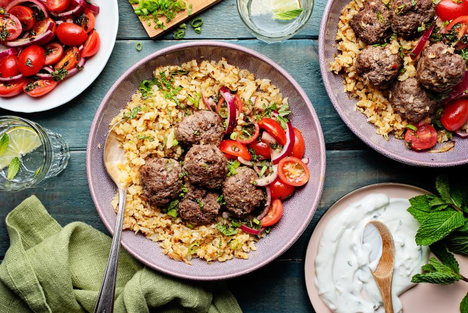 Greek-Spiced Meatballs