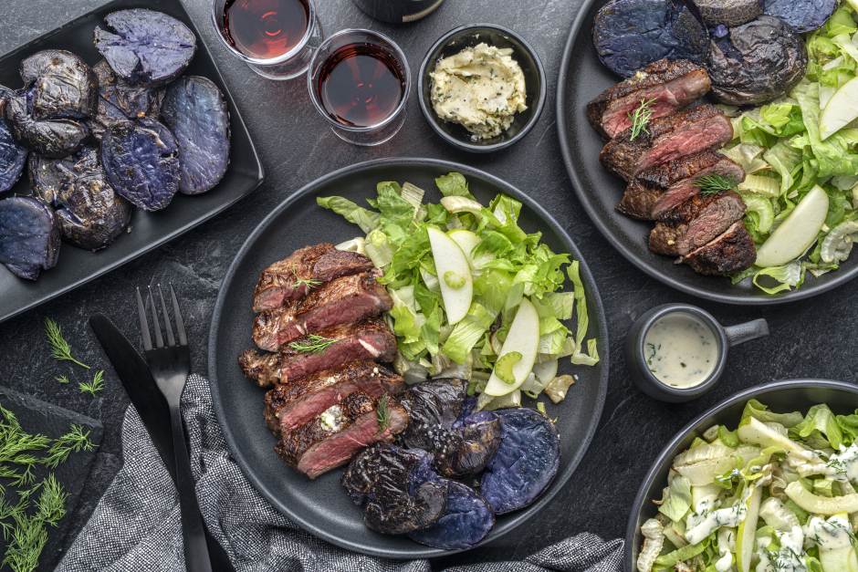 Strip Loin Steak for Two
