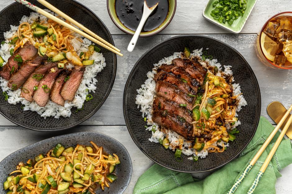 Korean-Style Steak Bulgogi Bowls