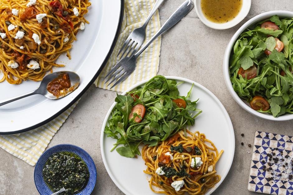 Fresh Spaghetti Puttanesca
