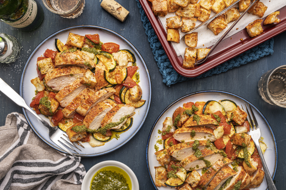 Chicken, Bocconcini & Tomato Traybake