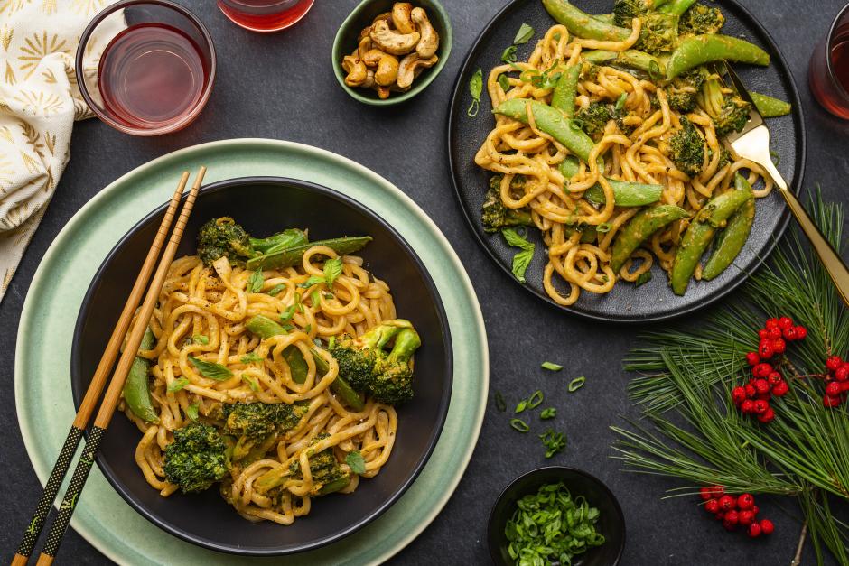 Broccoli, Sugar Snap Pea & Cashew Stir-Fry